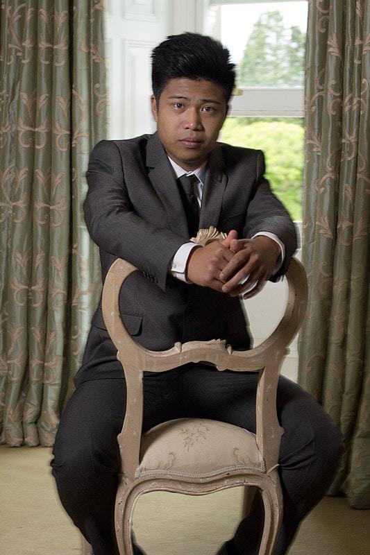groom portrait masculine