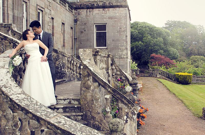 bride groom springkell wedding