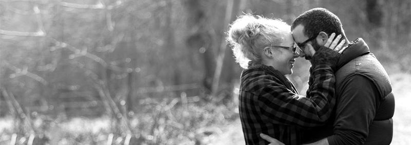 engagement shoot couple dumfries