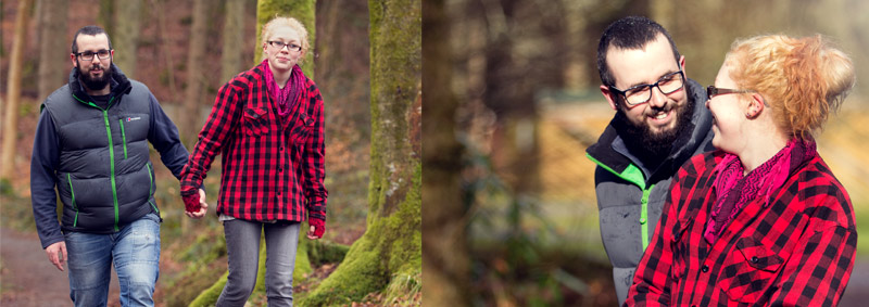 engagement shoot mabie forest