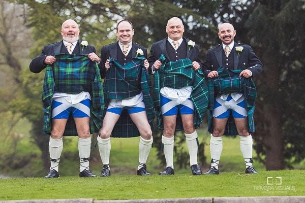 wedding candid moment scotland