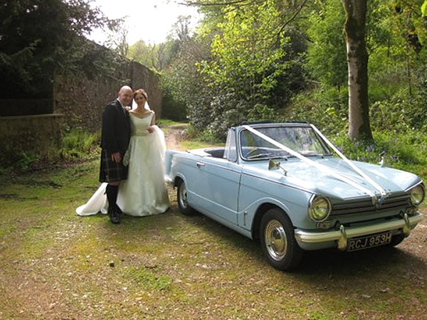 wedding car hire uk classic cars