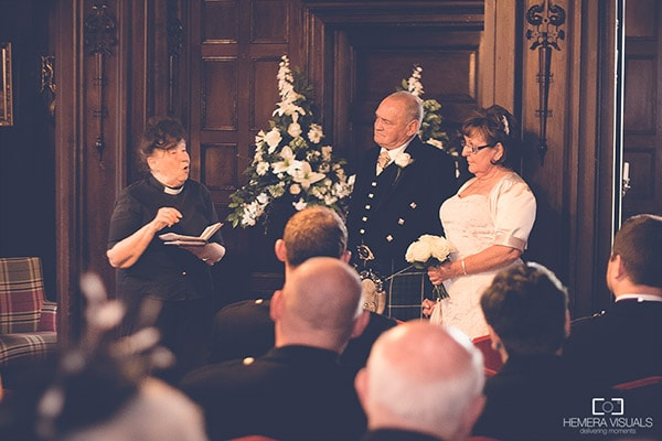 wedding ceremony friars carse dumfries