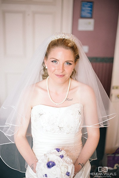 bride portrait dumfries