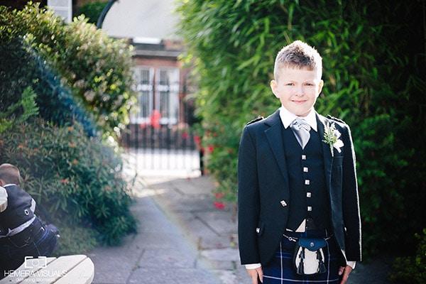 wedding boy