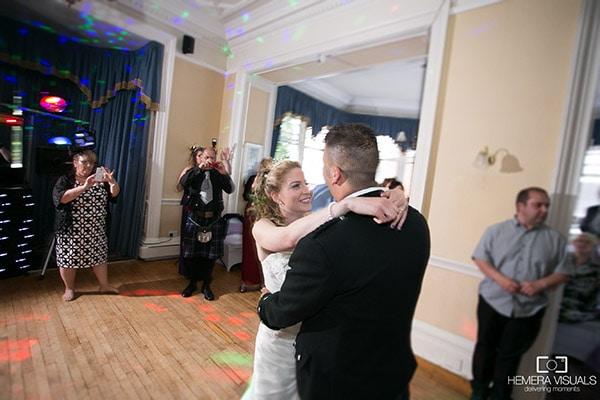 wedding first dance dumfries