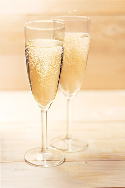 sparkling wine photography