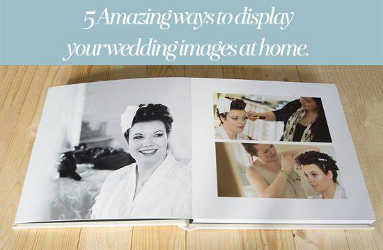 display wedding photos at home