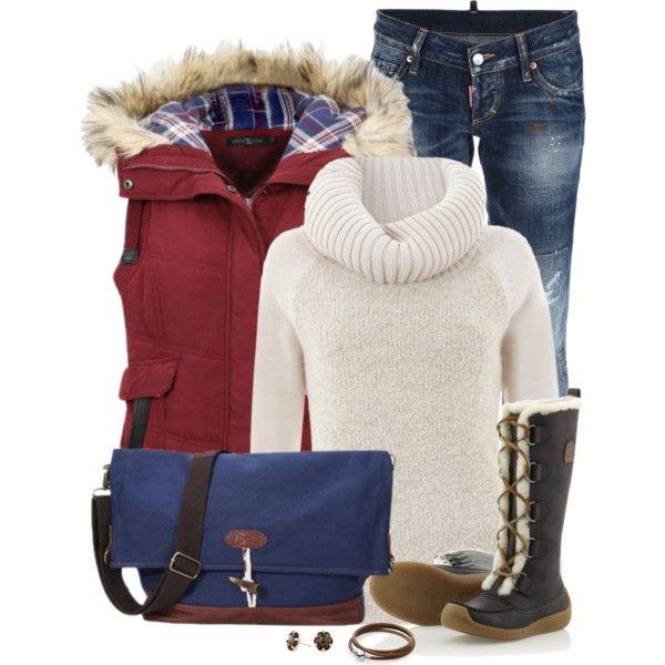 winter clothing layering