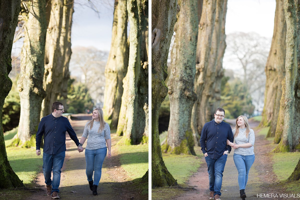dumfries engagement couple