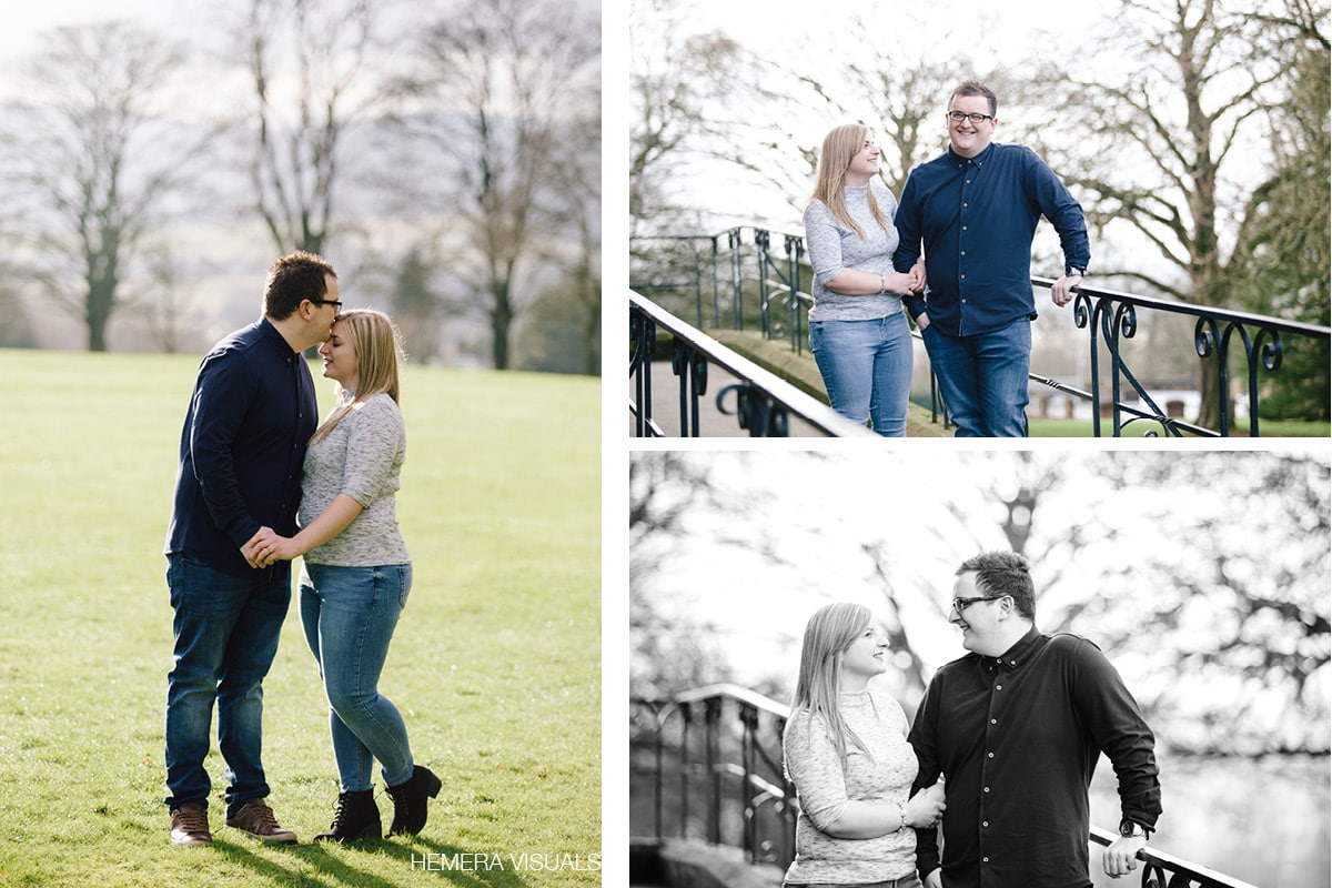 scottish engagement shoot spring