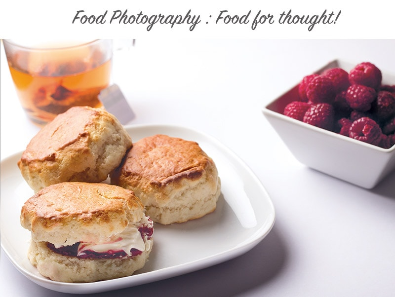 food photography dumfries