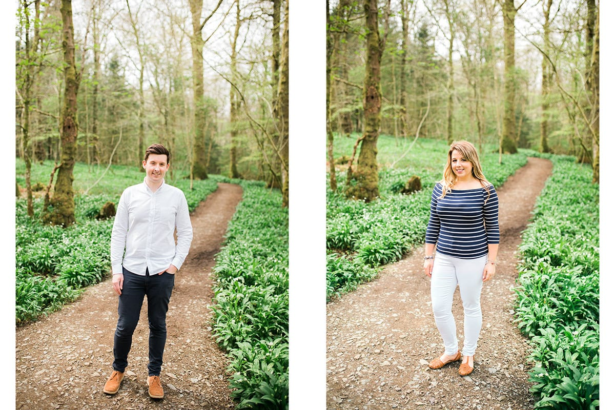 dumfries engagement photoshoot mabie