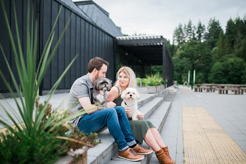 newton stewart engagement shoot