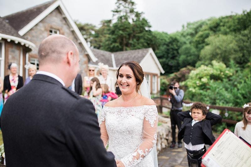 orroland lodge wedding dumfries galloway