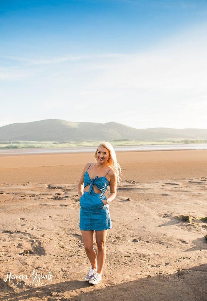 Caerlaverock Castle Dumfries beach engagement