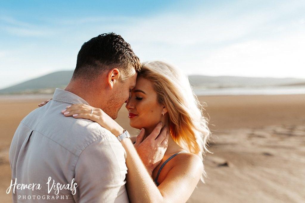 Caerlaverock Castle Dumfries intimate engagement shoot