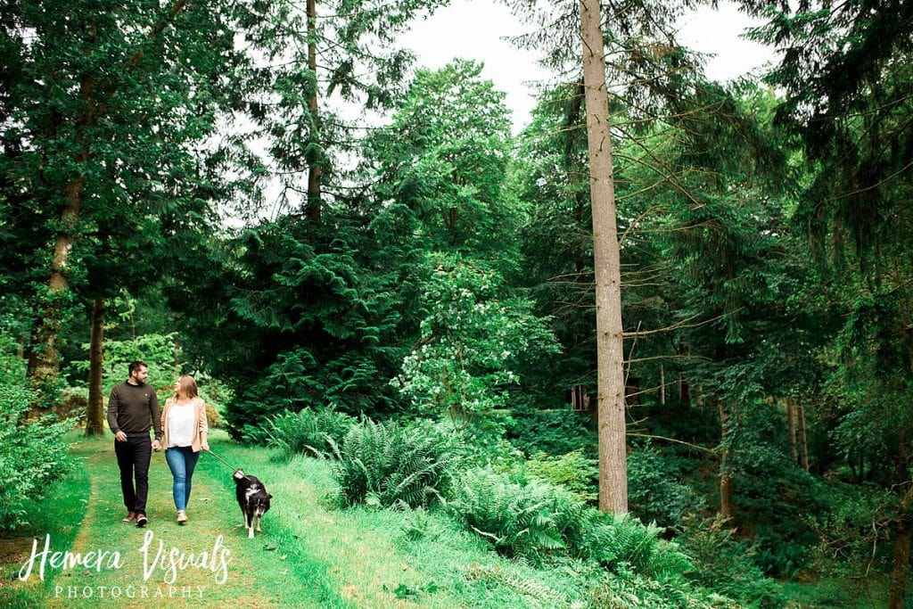 Drumlanrig Castle Dumfries Engagement shoot