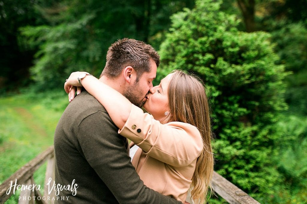 Drumlanrig castle Engagement shoot kiss scotland