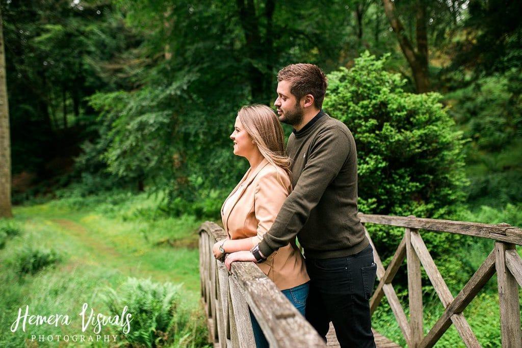 Drumlanrig castle scottish couple engagement
