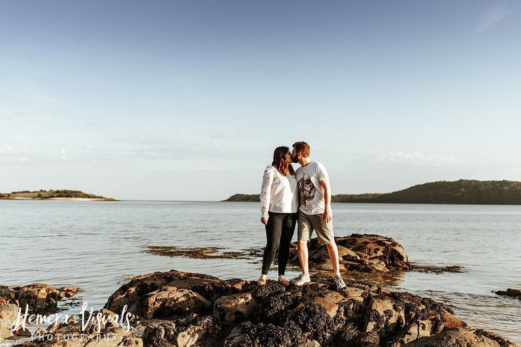 kippford dumfries engagement shoot