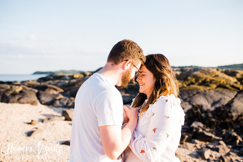 kippford dumfries intimate engagement photograhy