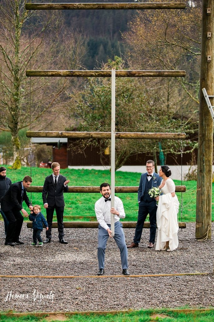 Loch Ken galloway activity centre wedding Dumfries