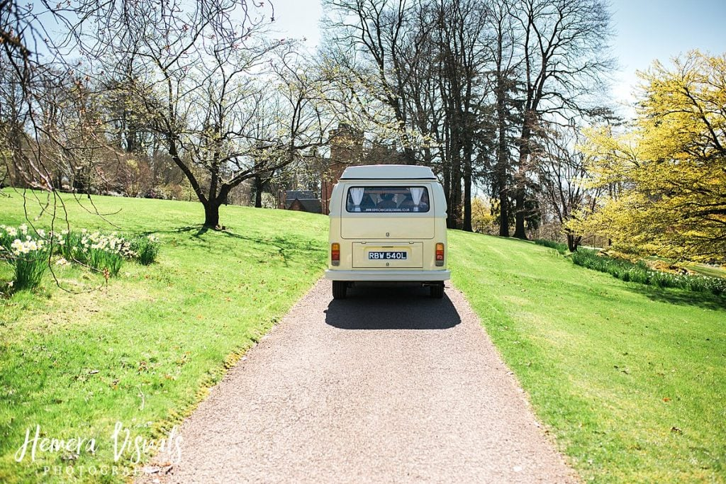Threave gardens wedding castle douglas camper