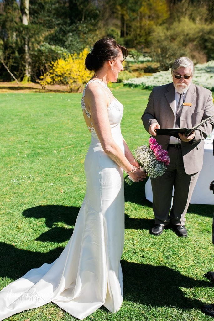 Threave gardens wedding bride dumfries