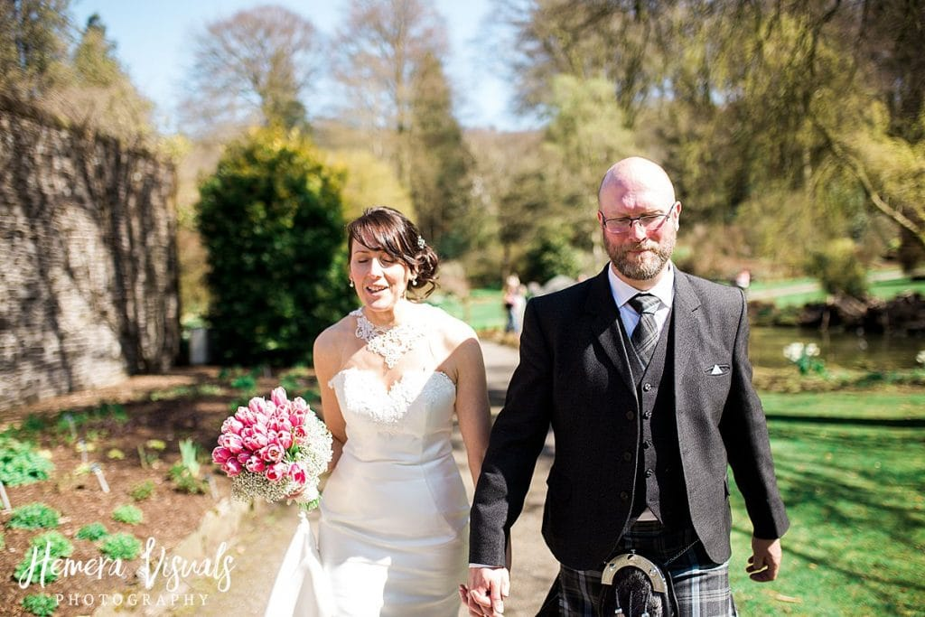 Threave gardens wedding castle douglas