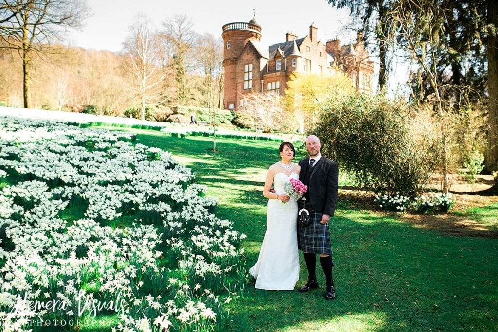 Threave gardens wedding castle douglas dumfries