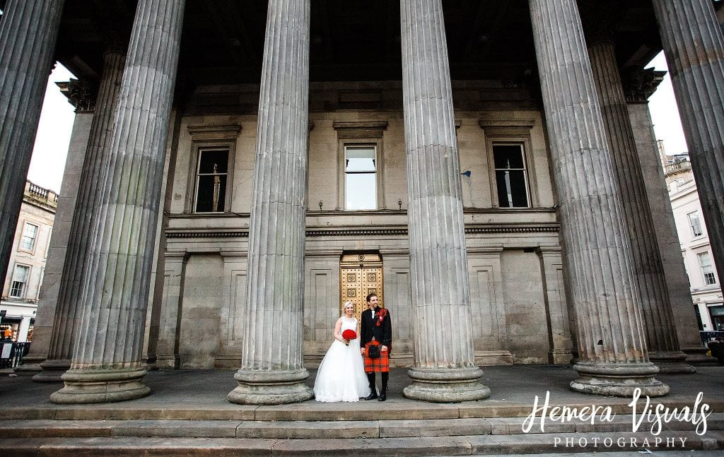 glasgow city scottish wedding scotland