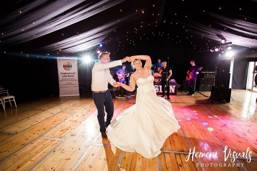 Farm Marquee wedding Dumfries Scotland