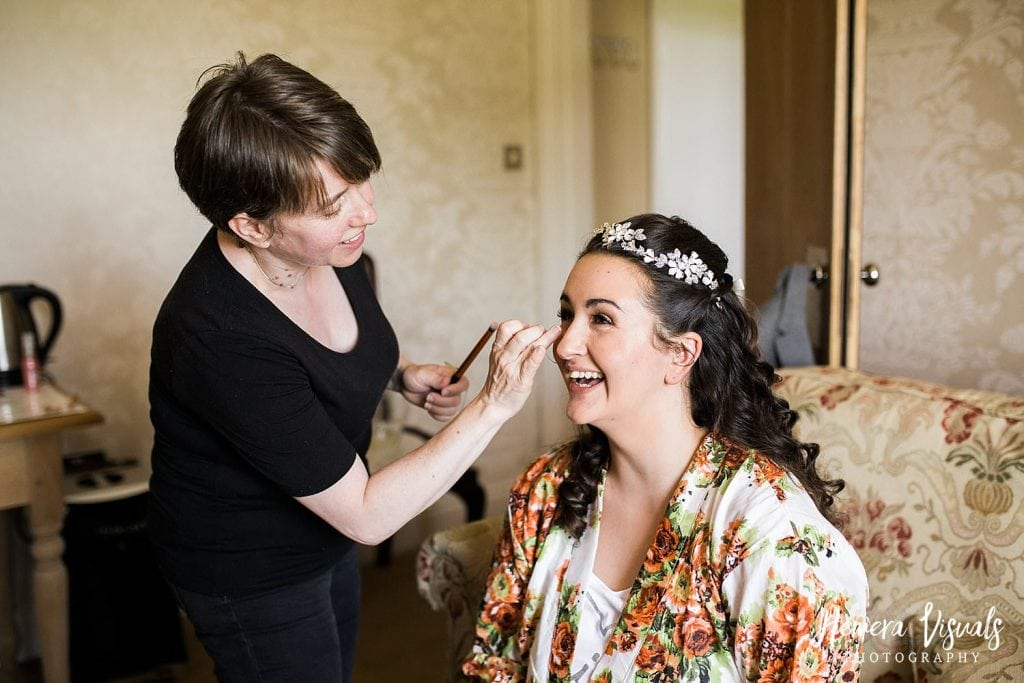 wedding makeup dumfries