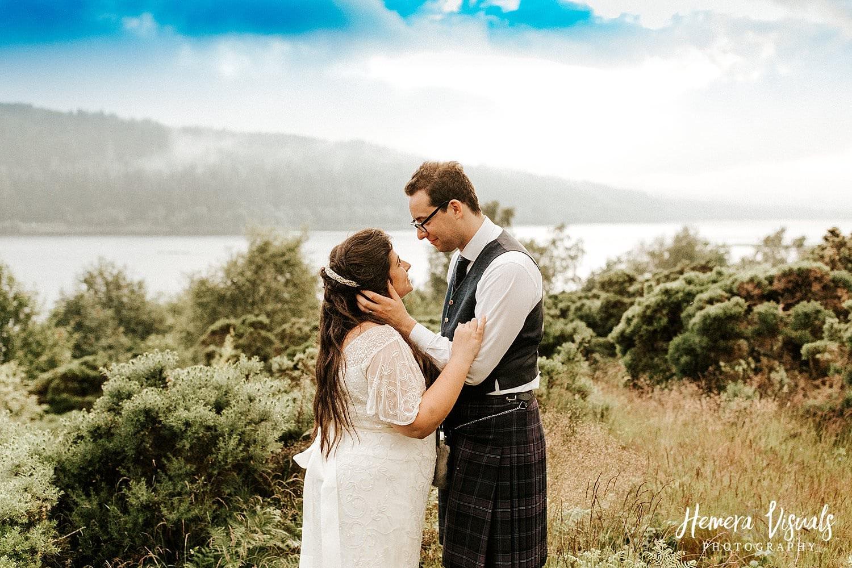 loch ken wedding
