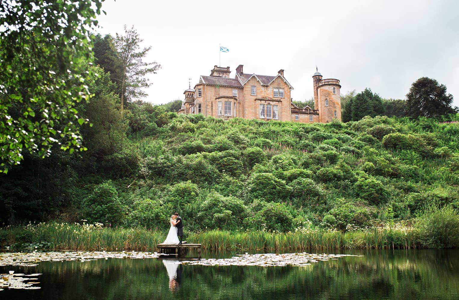 castle weddings in dumfries
